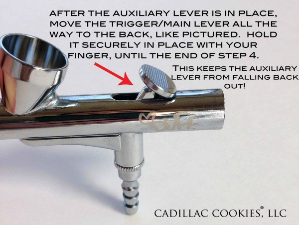 Placing Auxilary Lever