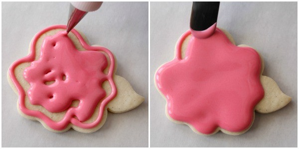 How to make simple rose cookies in three steps