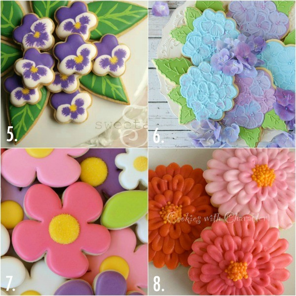 Flower cookie for Mother's Day 2