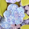 How to make beautiful hydrangea cookies.