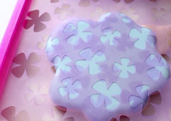 Hydrangea Cookie Stencil