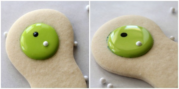 How to decorate golf cookies