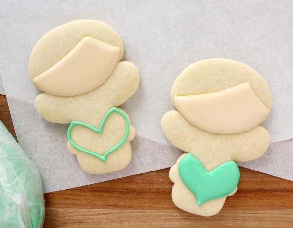 How to make mermaid cookies via Sweetsugarbelle blog