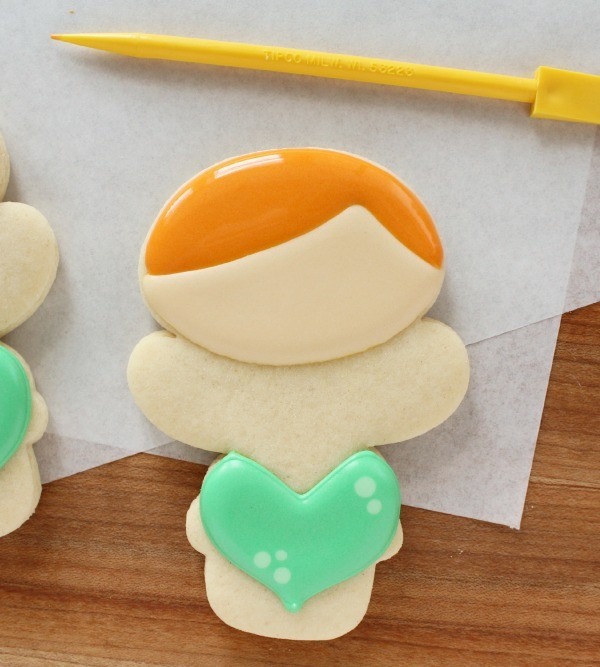 Little Mermaid Cookies via Sweetsugarbelle.com