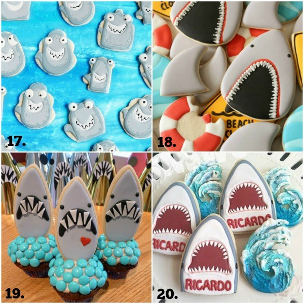 Shark Week Cookie Collage 5