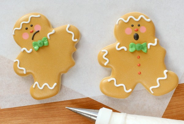 10 How to make funny bitten gingerbread cookies sweetsugarbelle.com
