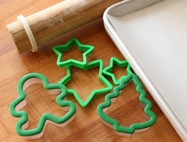 2 Bitten Gingerbread Cookies with Wilton Cookie Cutters via Sweetsugarbelle.com