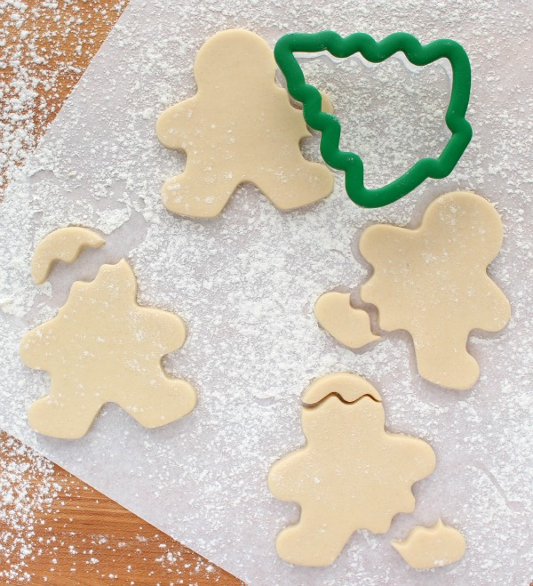 3 Bitten Gingerbread Cookies with Wilton and Michaels Cookie Cutters via Sweetsugarbelle