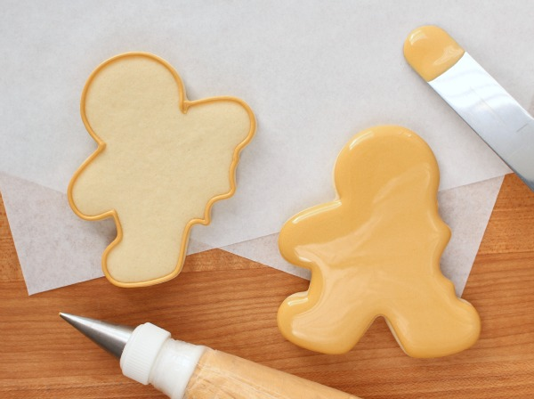 4 Bitten Gingerbread Cookies with Wilton Cookie Cutters by Sweetsugarbelle