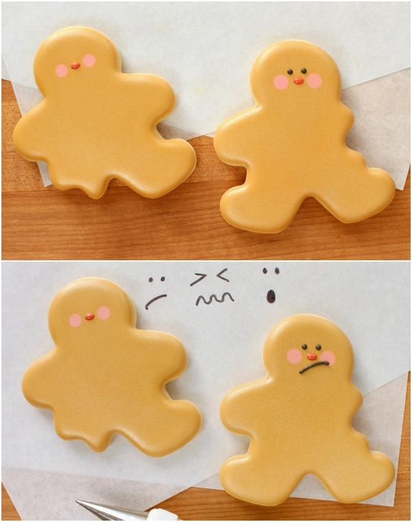 7 Bitten Gingerbread Cookies for Christmas via Sweetsugarbelle