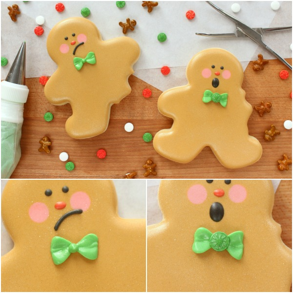 9 How to make cute bitten gingerbread men with Wilton products and Michaels stores via Sweetsugarbelle