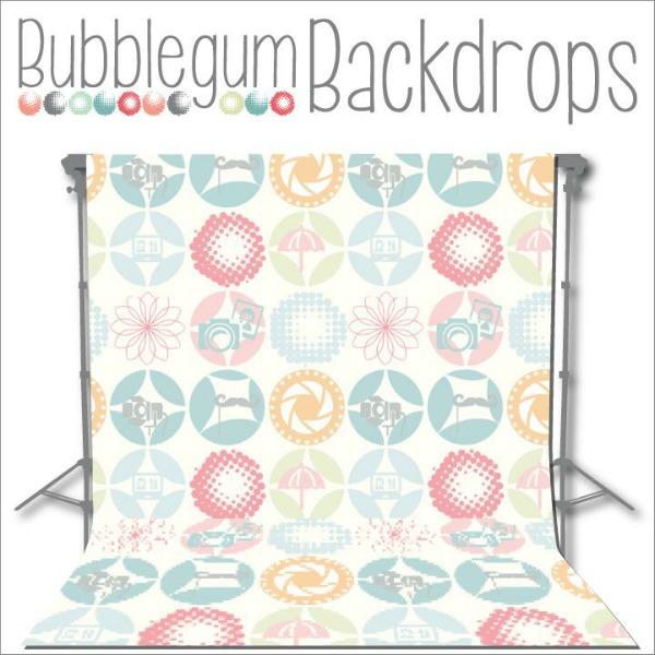 Bubblegum backdrops