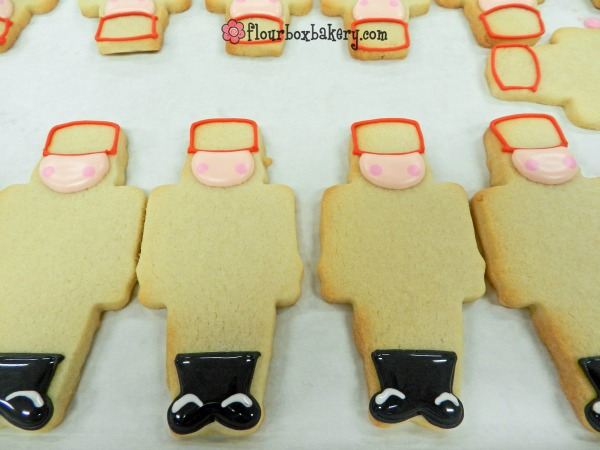 Christmas Nutcracker Cookies by Flour Box Bakery via Sweetsugarbelle blog