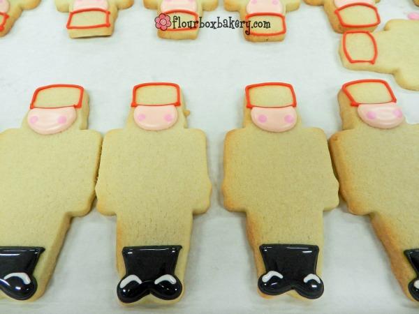 Christmas Nutcracker Cookies by Flour Box Bakery via Sweetsugarbelle blog