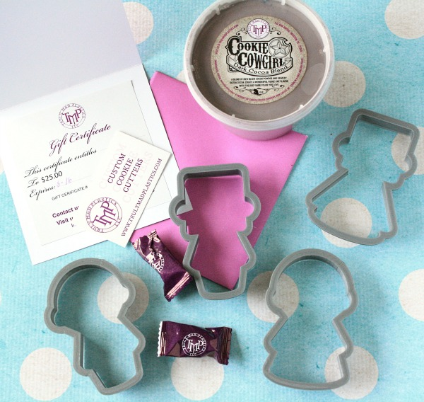 Cookie Cowgirl Dark Cocoa Blend, People Cutters, and a $25 gift card to TMP