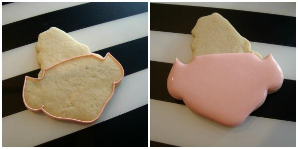How to make Christmas elf cookies with SugarBliss Cookies via Sweetsugarbelle.com
