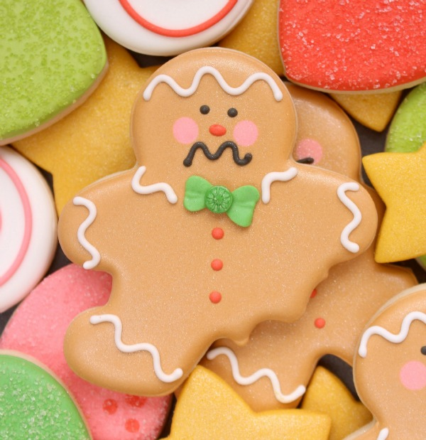How To Make Bitten Gingerbread Men Cookies With Wilton And Michaels