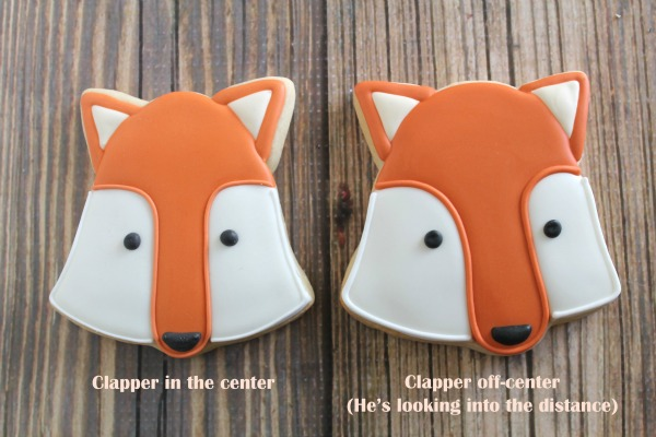 How to make fox cookies via Sweetsugarbelle.com