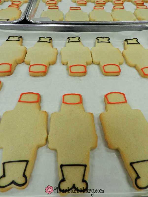 Nutcracker Cookies by Flour Box Bakery via Sweetsugarbelle.com