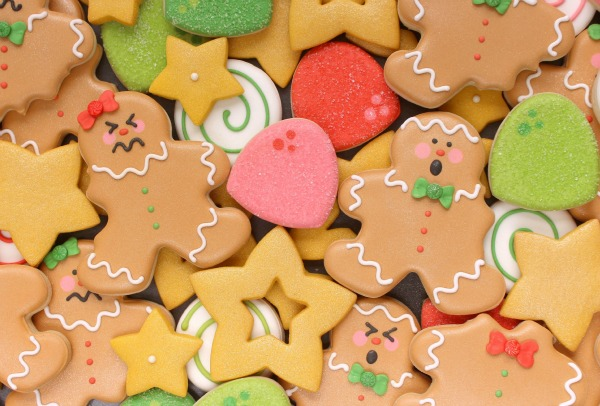 Silly Bitten Gingerbread Men Cookies for Christmas, via Sweetsugarbelle.com