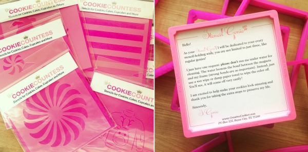 Stencil Genie and Cookie Countess Stencil Package