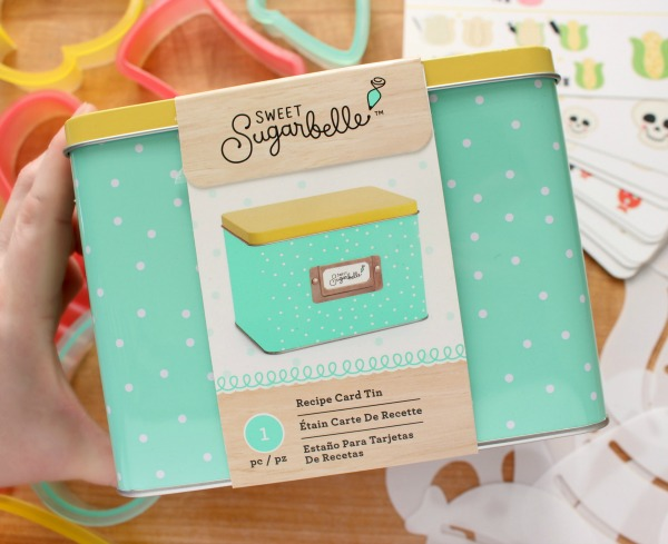 Sweet Sugarbelle Recipe Card and Instruction Tin