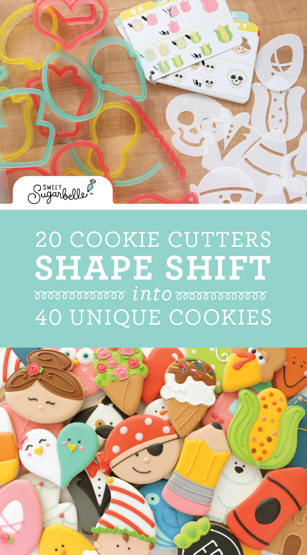 The Sweet Sugarbelle Shape Shifter Cookie Decorating Set ...