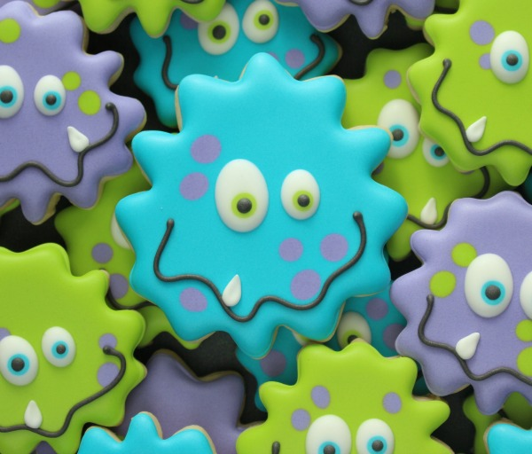 how-to-make-silly-monster-cookies-with-a-sunflower-cutter-great-for-monsters-inc-parties-halloween-and-more